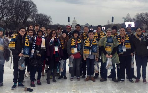 High School Students Witness Transfer Of Power At Presidential Inauguration