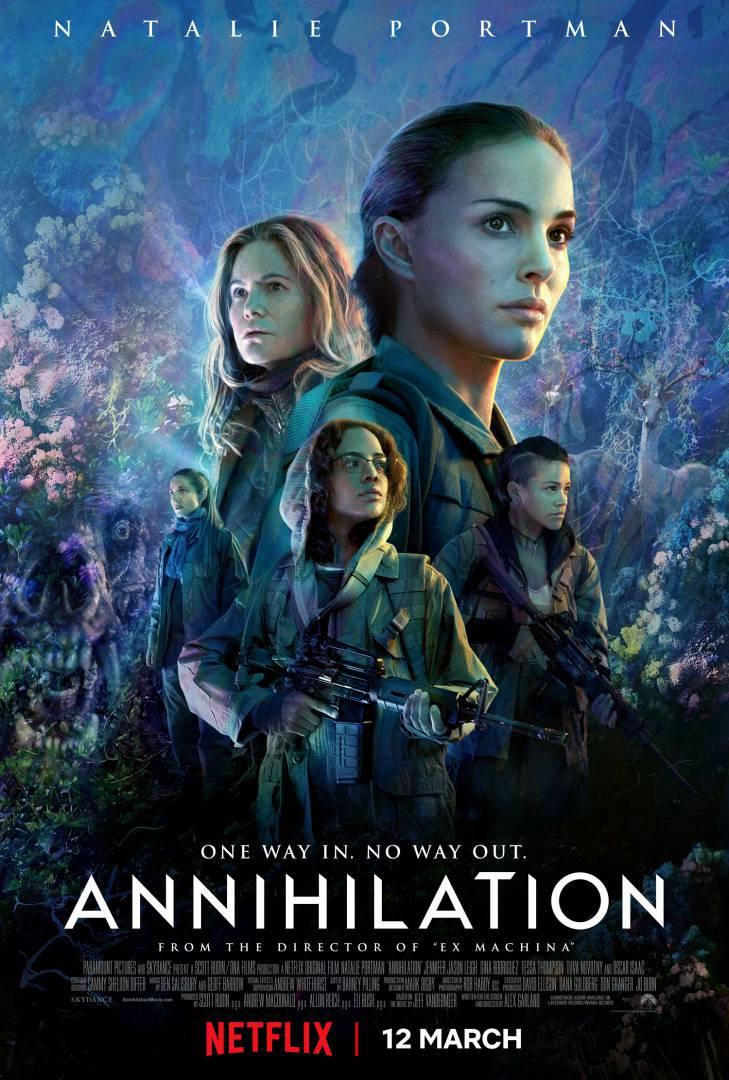 Annihilation, Paramount Pictures