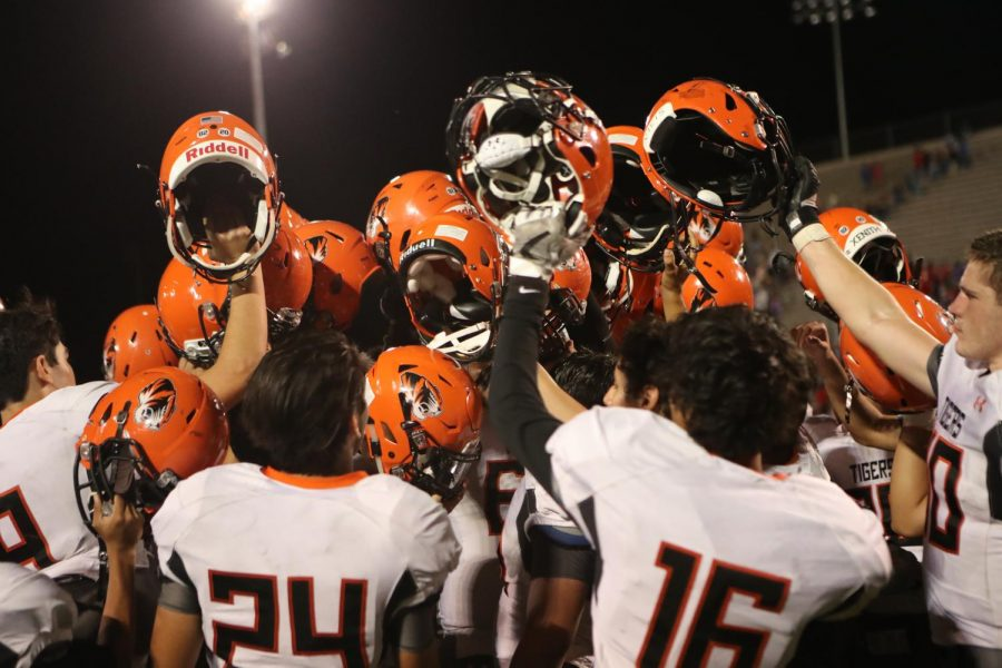 The Tigers completed a second half comeback win against Bel Air on Sept. 14. The team trailed 21-6 in the third quarter before scoring 29-unanswered points.