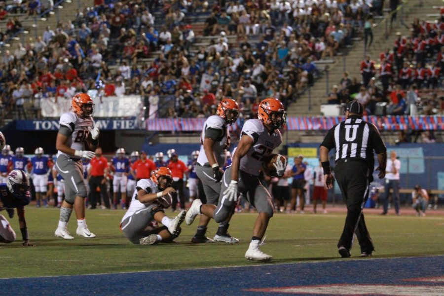 Running back, Mario Chavez, leads the Tigers with 756 rushing yards and eight touchdowns.
