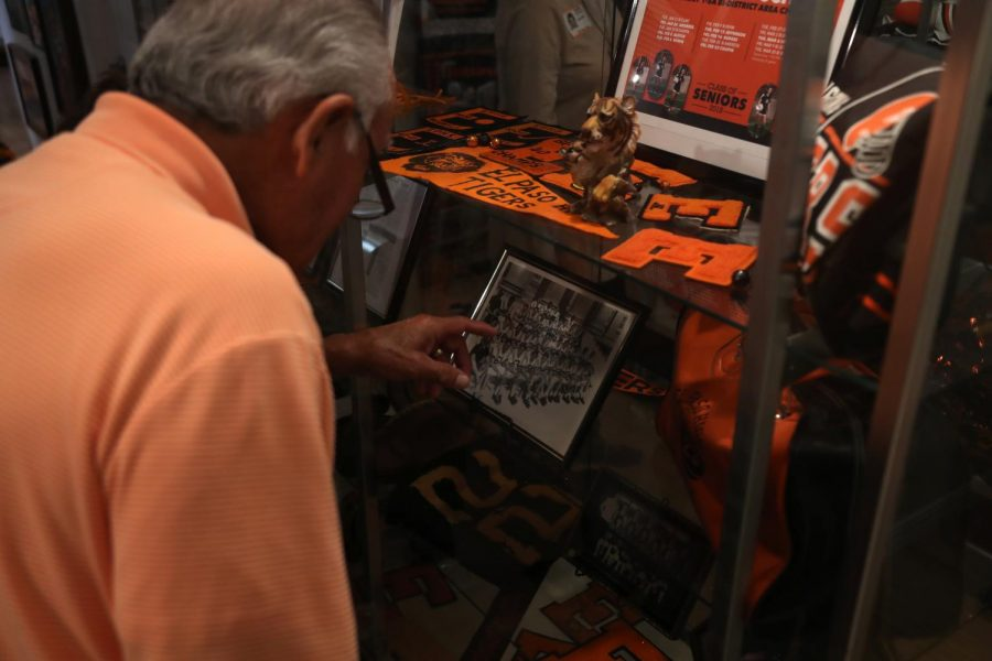 Alumni who visit the museum have an opportunity to reminisce on the time they once walked the halls of El Paso High School.