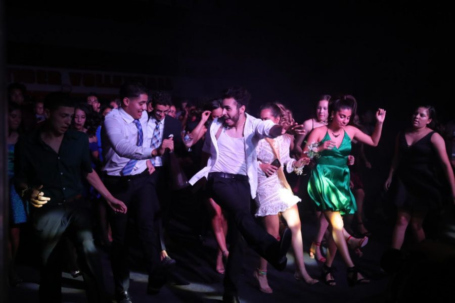 The homecoming dance capped off the eventful week. Hundreds of students attended the event which at times was at full capacity.