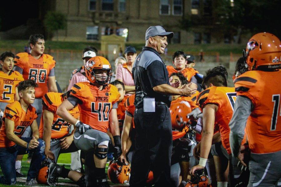 Robert Morales, who coached the Tigers for 10 seasons, build a reputation as an motivational leader among his football players.
