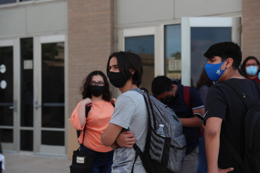 Anyone entering an EPISD has been required to wear mask or mouth covering after the district followed similar mandates from other districts in the state.